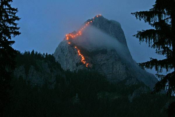 Klettersteig Leopoldsteinersee : Naturfreunde eisenerz
