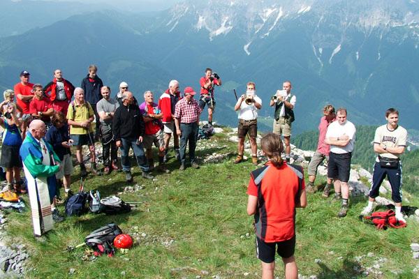 Klettersteig Eisenerz : Klettersteig alpenverein